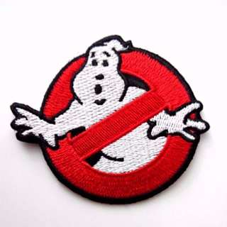 Ghostbusters Ghoul Logo Halloween DIY Iron On Patch