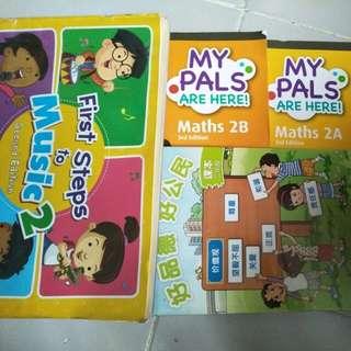 Primary 2 textbooks