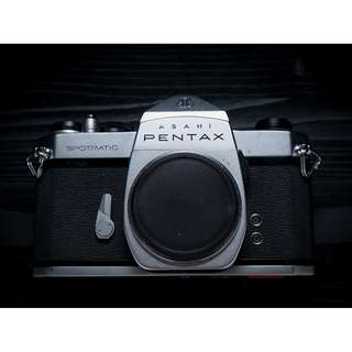 Pentax Spotmatic SP SLR vintage film camera body