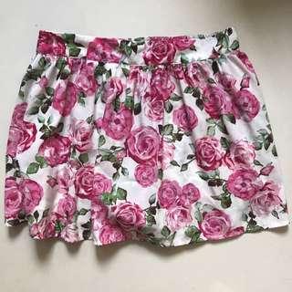 REPRICED! Forever21 Floral Skirt