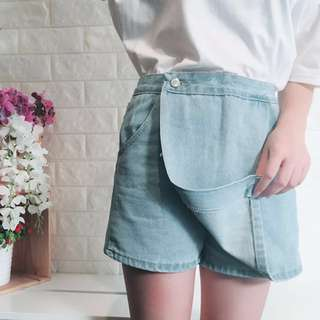 簡約牛仔褲裙#兩百元丹寧