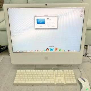 iMac 24 罕有 99%新 絕版白色