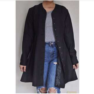 [RESERVED] Black Dressy coat