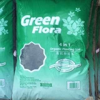 GreenFlora Potting Soil ( 4 in 1 ) 7 KG