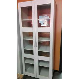 5 shelves glass door pantry showroom sample on sale