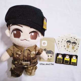Descendants of The Sun Fansite Doll - Big Boss