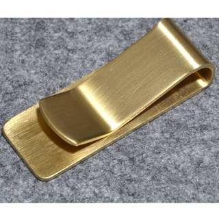Vintage Brass Clip - 復古黃銅夾子 - B0028
