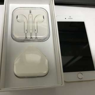 IPhone 6 128GB GOLD perfect condition 100%work