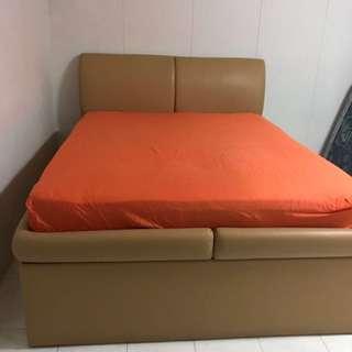 Queen size Storage Bedframe