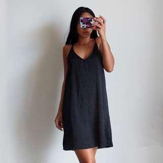 NEW Honey Punch Black Slip Dress - shop rachelteetyler wardrobe