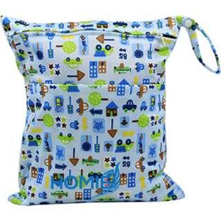 ✔️Buy 4 Get 1 Free/Best Wet Bag/Diaper Bag/WaterProof/Swimming Bag/Double Zip/Size 45*35