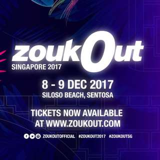 Zoukout Day 1 Ticket! (X2)