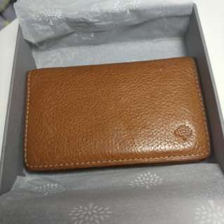 BNIB Mulberry Card Holder