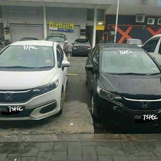 New Honda Jazz For Rent