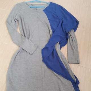 Trendy long blouse/ mini dress
