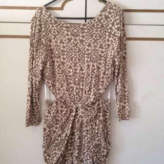 Maurie And Eve Low Back Cutout Dress Size 12