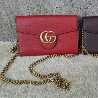 Gucci Sling Chain Wallet