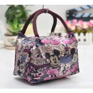 Tas kecil untuk bawa bekal model kanvas Hand bag for lunch - FTS032