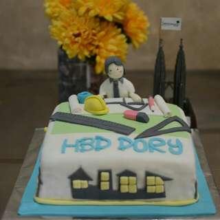 Kue ulang tahun arsitek
