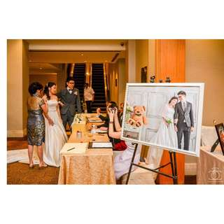 Actual day wedding photography services.
