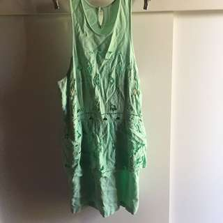 Alice McCall size 12 mint dress