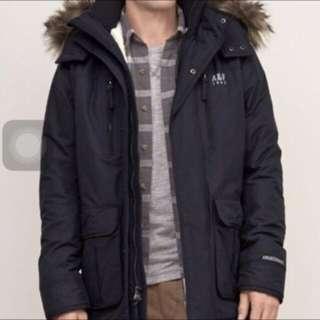 🚚 全新降價A&F雪帕內裡尼龍外套大衣,全新正品