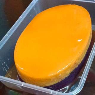 Special Ube Flan