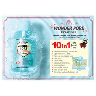 ⭐PRE XMAS SALE⭐Etude House Wonder Pore Freshner 10-in-1 (500ml) (UP: $16)