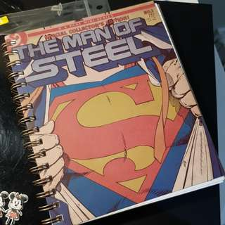 TYPO MAN OF STEEL A5 240PG NOTEBOOK