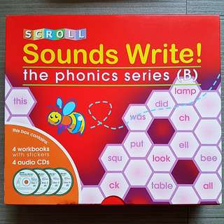 Scroll Sounds Write! The Phonics Series