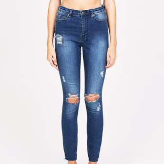 Ksubi High and Wasted skinny jeans general pants