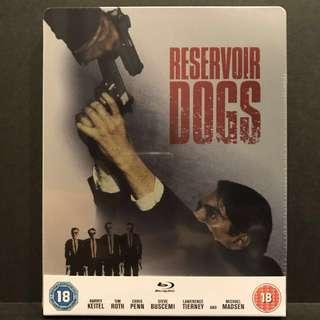 Quentin Tarantino's RESERVOIR DOGS Blu-ray Zavvi Exclusive Steelbook US$28/S$38