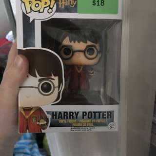 Harry Potter quidditch pop vinyl figure