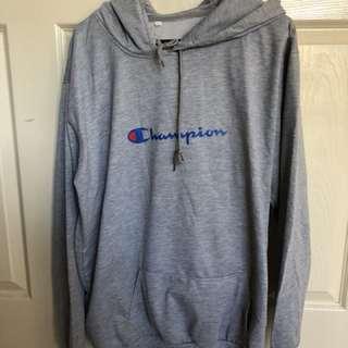 Champion replica hoodie size 10-12