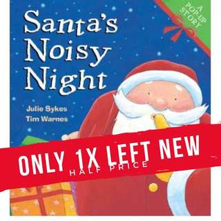 Santa's Noisy Night Pop up book - Only 1x Available  By (author)  Julie Sykes , By (author)  Tim Warnes #kidsbooks #popupbooks #christmaspresents #kidsbooks