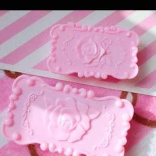 粉紅睫毛/小飾物盒(兩個)