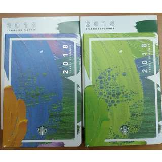 Starbucks 2018 Planner (without Vinta card)
