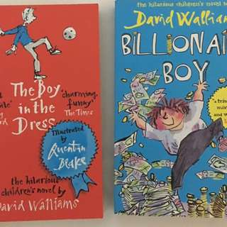 Billionaire Boy By: David Walliams & The Boy in the Dress For Ages: 9 - 12 years old