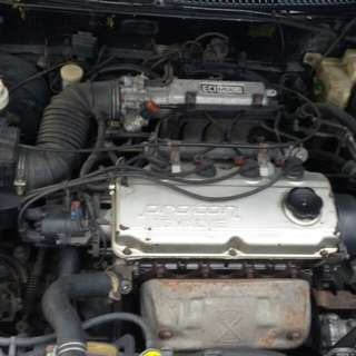 Wira 1.8 sohc running for parts