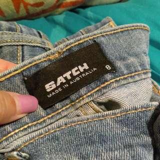 Satch Jeans Size 8