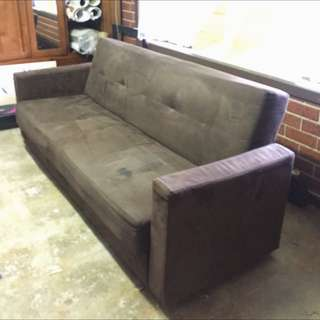 Couch (Folds Out To A Bed)