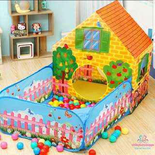 *SALE @ $55!* Large Size Lovely House With Garden Play Tent Kids Girls Boys Children Play Area Room Decor Home Decor Pretend Play Role Play Large Tent In Stock