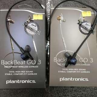 Plantronics Backbeat Go 3