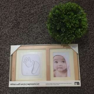 MOTHERCARE deluxe wall hanging impression kit