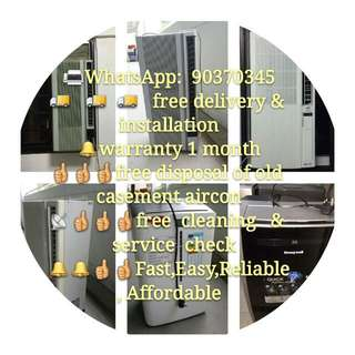 aircon aircon offer offer offer,fast go go go provide delivery and installation and 1 month warranty