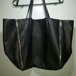 Authentic Celine Zip Cabas