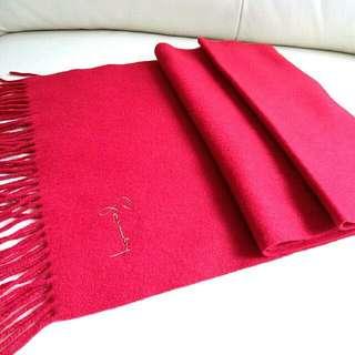 100%Cashmere Givenchy Vintage Scarf 頸巾 圍巾