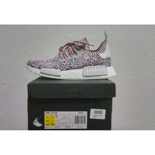 INSTOCK UK7 Adidas NMD R1 Color Static