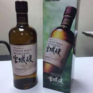 日本威士忌宮城峽
