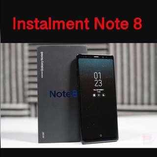 Instalment Note 8 Samsung